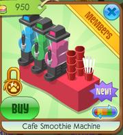 Cafe smoothie machine