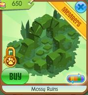 Mossy Ruins green