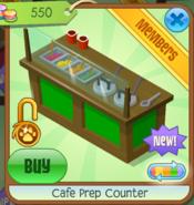 Cafe Prep Counter - Green (3)