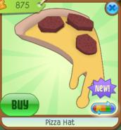 Pizza Hat Orange