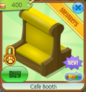 Cafe booth 3
