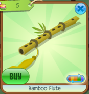 Bamboo Flute Yellow