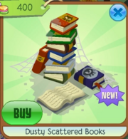 Dusty Scattered Books