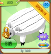 PigTable White(8)