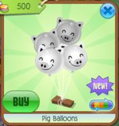 PigBalloons White(8)