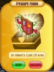 Sir Gilbert's Coat Of Arms