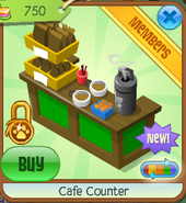 Cafe counter 2