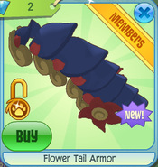Diamond-Shop Flower-Tail-Armor