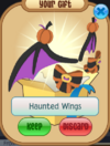 Haunted wings