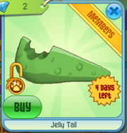 Jelly tail