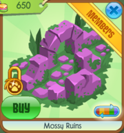 Mossy Ruins pink