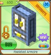 Shop Pixelated-Armoire Blue