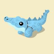 Item Exclusive Crocodile Plushie ice
