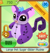 Large-Pet-Sugar-Glider-Plushie-4