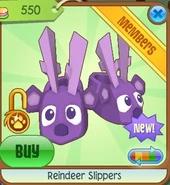 Reindeer slippers6