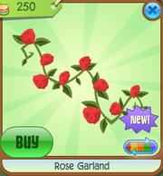 Shop Rose-Garland Red