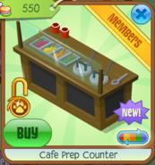 Cafe Prep Counter - Black (6)