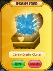 Cavern Crystal Cluster