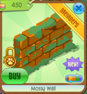 Mossy Wall orange