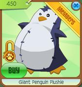 Museum-Den-Shop Giant-Penguin-Plushie