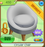 Shop Circular-Chair Grey