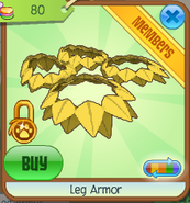 Leg armor2
