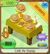 Cafe pie display 3