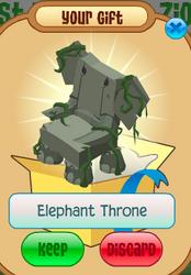 ElephantThrone