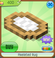 Shop Pixelated-Rug Brown