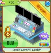 Shop Space-Control-Center Blue