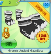 Greely's Ancient Gauntlets