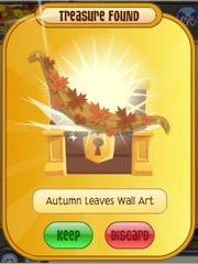 Autumn Leavs Wall Art