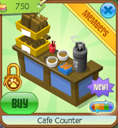 Cafe counter 1