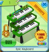 Epic-Keyboard-Green