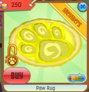 Paw Rug Animal Jam Item Worth Wiki Fandom