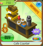 Cafe counter 5