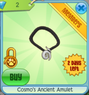Cosmo's Ancient Amulet