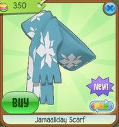 Shiveer-Shoppe Jamaaliday-Scarf Blue