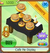 Cafe pie display 5