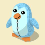 Item Exclusive Penguin Plushie ice