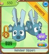 Reindeer slippers2