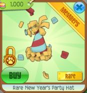 New Years Party Hat Animal Jam Item Worth Wiki Fandom Powered
