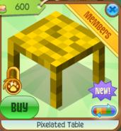 Pixelated Table 4