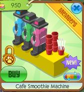 Cafe smoothie machine 3