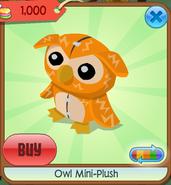 Owl mini-plush 1