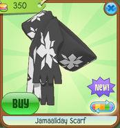 Shiveer-Shoppe Jamaaliday-Scarf Black