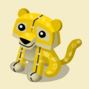 Item Exclusive Tiger Plushie yellow-leaf