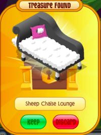 SheepChaiseLounge