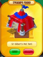 SirGilbert'sPetTent