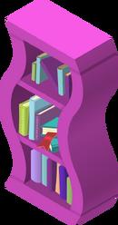 Wavy Bookshelf Pink